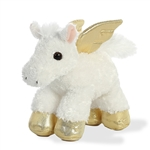 Little Magic the Stuffed Pegasus Mini Flopsie by Aurora