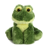 Little Frolick the Stuffed Frog Mini Flopsie by Aurora