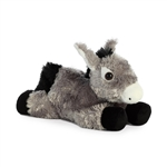Little Bubba the Stuffed Donkey Mini Flopsie by Aurora