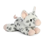 Little Snort the Stuffed Spotted Piglet Mini Flopsie by Aurora