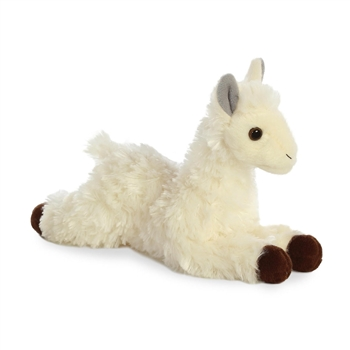 Little Lisa the Stuffed Llama Mini Flopsie by Aurora
