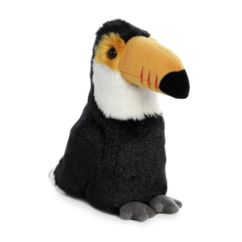 Little Bright the Stuffed Toco Toucan Mini Flopsie by Aurora