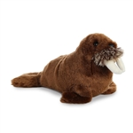 Little Smith the Stuffed Walrus Mini Flopsie by Aurora