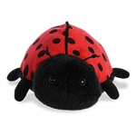 Little Ladybird the Stuffed Ladybug Mini Flopsie by Aurora