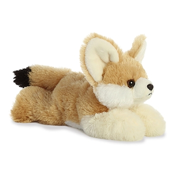 Little Frisky the Stuffed Fennec Fox Mini Flopsie by Aurora