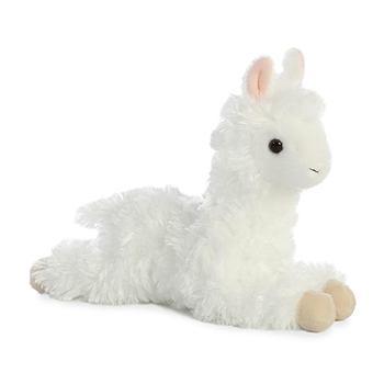 Little Ansy the Stuffed Alpaca Mini Flopsie by Aurora