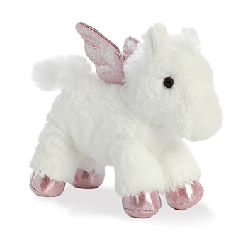 Little Skies the Stuffed Pegasus Mini Flopsie by Aurora