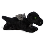 Little Midnight the Stuffed Black Dragon Mini Flopsie by Aurora
