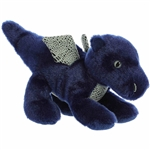 Little Sapphire the Stuffed Blue Dragon Mini Flopsie by Aurora