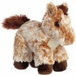 Little Mocha the Stuffed Light Brown Horse Mini Flopsie by Aurora