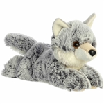 Winter the Little Stuffed Wolf Mini Flopsie by Aurora
