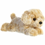 Little Rusty the Stuffed Labrador Retriever Mini Flopsie by Aurora