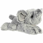Little Leroy the Stuffed Elephant Mini Flopsie by Aurora