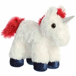 Little Star the Stuffed Unicorn Mini Flopsie by Aurora