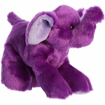 Little Violet the Stuffed Purple Elephant Mini Flopsie by Aurora