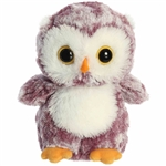 Little Heather the Stuffed Purple Owl Mini Flopsie by Aurora