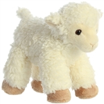 Little Lucy the Stuffed Sheep Mini Flopsie by Aurora