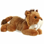 Saber the Stuffed Smilodon Flopsie Plush by Aurora