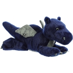 Sapphire the Stuffed Blue Dragon Flopsie by Aurora