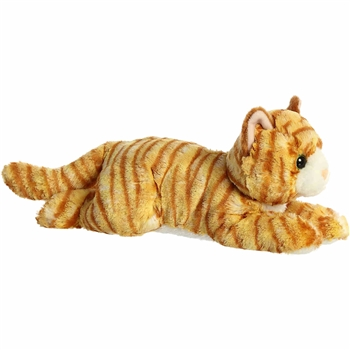 Ginger the Plush Orange Tabby Cat Flopsie by Aurora