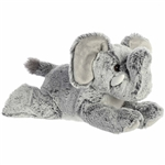 Leroy the Stuffed Elephant Mini Flopsie by Aurora