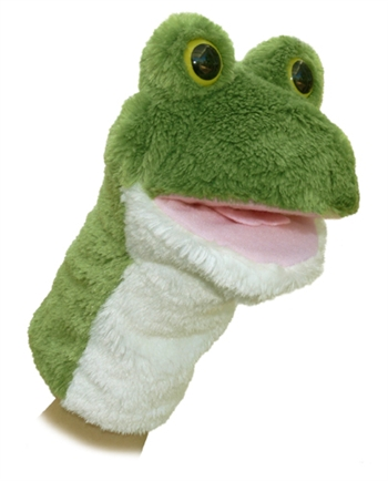 Lily the Plush Frog Stage Puppet by Aurora