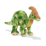 Green Parasaurolophus Stuffed Animal by Aurora