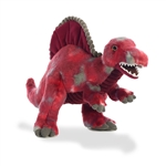Red Spinosaurus Stuffed Animal by Aurora