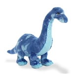Medium Stuffed Blue Brachiosaurus by Aurora