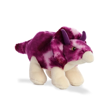 Small Roaring Triceratops Stuffed Animal by Aurora