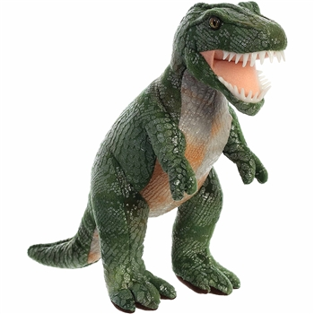 Stuffed Tyrannosaurus Rex 11 Inch Plush Animal by Aurora
