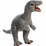 Stuffed Velociraptor 11 Inch Plush Animal by Aurora