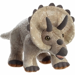 Stuffed Triceratops 11 Inch Plush Animal by Aurora