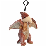 Stuffed Pteranodon Clip-On Plush Dinosaur by Aurora