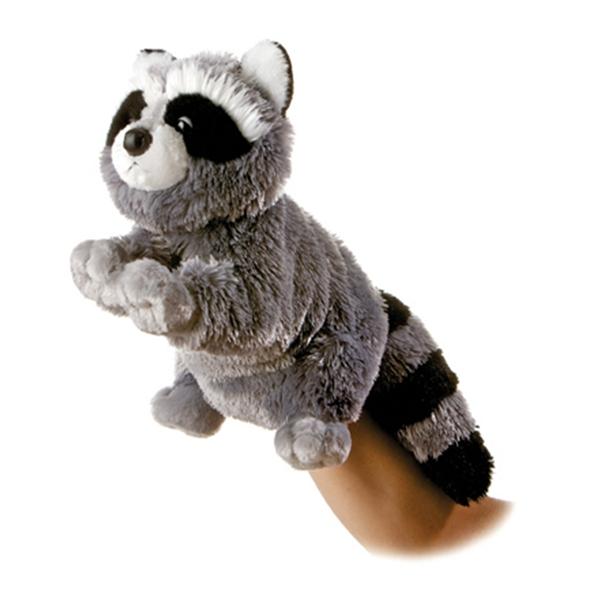 Bandit The Plush Raccoon Full Body Puppet By Aurora At Stuffed Safari
