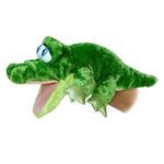 Grator the Goofy Eyed Alligator Puppet by Aurora