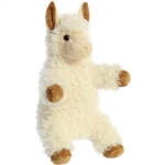 Lillian the Plush Llama Puppet by Aurora