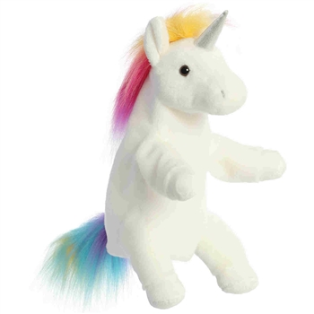 Lunaria the Plush Unicorn Puppet by Aurora
