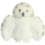 Celsius the Plush Snowy Owl Puppet by Aurora