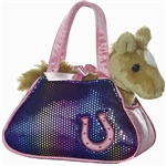Betsey Bling Fancy Pals Pet Carrier with Plush Horse by Aurora