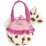 Pinto Pop Fancy Pals Pet Carrier with Plush Horse by Aurora