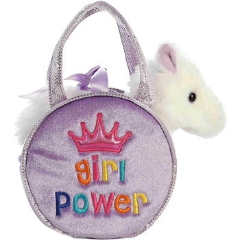 Girl Power Fancy Pals Pet Carrier with Plush Horse by Aurora