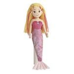 Marinna the Pink Sea Sparkles Mermaid Doll by Aurora