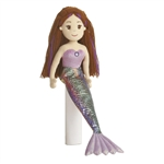 Merissa the Purple Sea Sparkles Mermaid Doll by Aurora