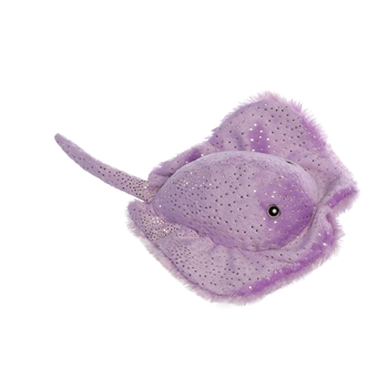 Stacy the Purple Stingray Stuffed Animal by Aurora