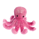 Octavia the Pink Octopus Stuffed Animal by Aurora