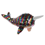 Star the Sequin Sparkles Narwhal Stuffed Animal by Aurora