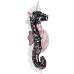 Rainbow Star the Sequin Sparkles Seahorse Stuffed Animal by Aurora