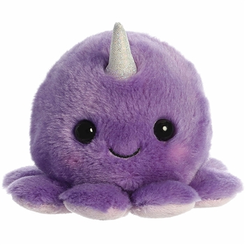 Purple Stuffed Octo Narwhally Macaron Plush by Aurora