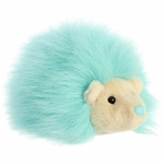 Mint Green Hedgehog Stuffed Animal Macaron Plush by Aurora